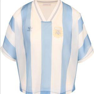 NWT 🆕 Adidas Original women's argentina layer tee